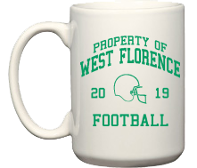 Women's West Florence High School Knights Mugs & Bottles