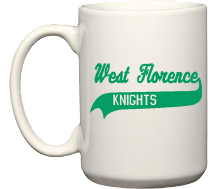 West Florence High School Knights Mugs & Bottles