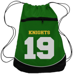 Men's West Florence High School Knights Drawstring Back Packs