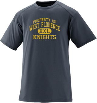 Men's Knights Short Sleeved Performance Crew
