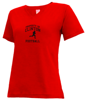 Women's Clinton High School Arrows Apparel
