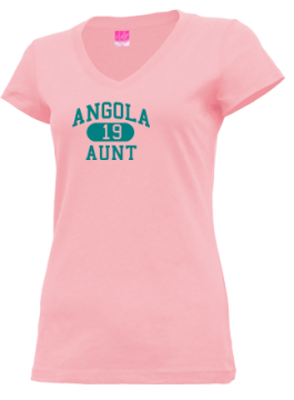 Junior Girls Angola High School Hornets Apparel