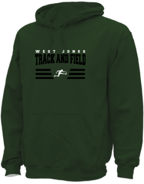 Men's West Jones High School Mustangs Apparel