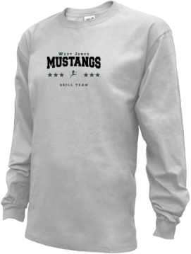 Kids West Jones High School Mustangs Apparel