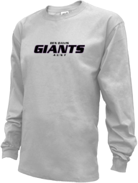 Kids Ben Davis High School Giants Apparel