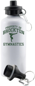 Men's Brockton High School Warriors Aluminum Water Bottles