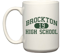 Men's Brockton High School Warriors Coffee Mugs (15oz)