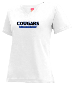 Women's Custer High School Cougars Apparel