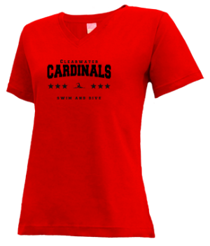 Women's Clearwater High School Cardinals Apparel