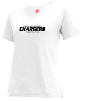 Women's North Montgomery High School Chargers Apparel