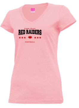 Junior Girls Loup City High School Red Raiders Apparel