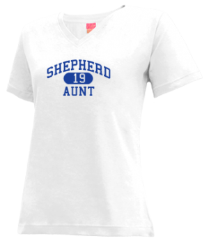 Women's Shepherd High School Mustangs Apparel