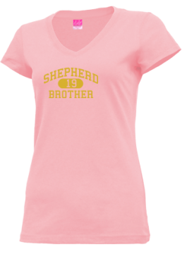 Junior Girls Shepherd High School Mustangs Apparel