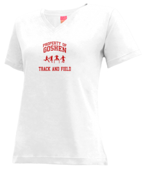 Women's Goshen High School Redskins Apparel