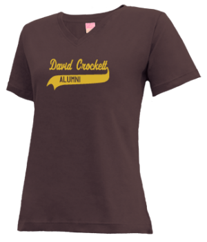 Women's David Crockett High School Pioneers Apparel