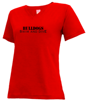 Women's Brandon High School Bulldogs Apparel