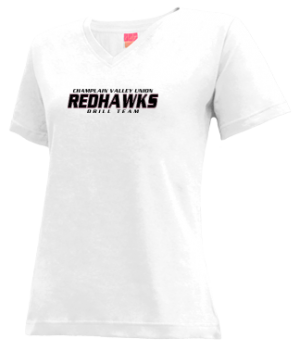 Women's Champlain Valley Union High School Redhawks Apparel