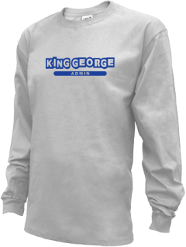 Kids King George High School Foxes Apparel