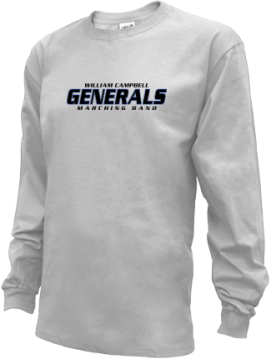 Kids William Campbell High School Generals Apparel