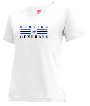 Women's William Campbell High School Generals Apparel