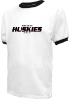 Men's Matawan High School Huskies  Ringer T's