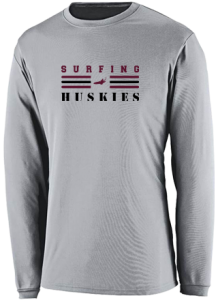 Men's Matawan High School Huskies  Performance Long Sleeved Crew