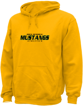 Men's Brick Memorial High School Mustangs Apparel