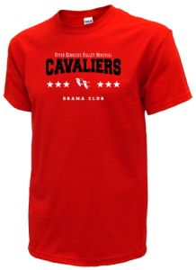 Men's Upper Kennebec Valley Memorial High School Cavaliers  T-Shirts
