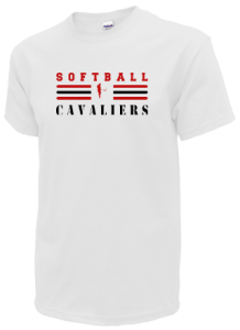 Women's Upper Kennebec Valley Memorial High School Cavaliers  T-Shirts
