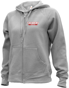 Women's Upper Kennebec Valley Memorial High School Cavaliers  Zip-up Hoodies