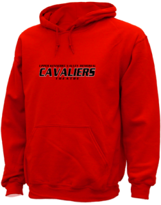 Men's Upper Kennebec Valley Memorial High School Cavaliers  Hooded Sweatshirts