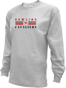 Men's Upper Kennebec Valley Memorial High School Cavaliers Long Sleeve Shirts
