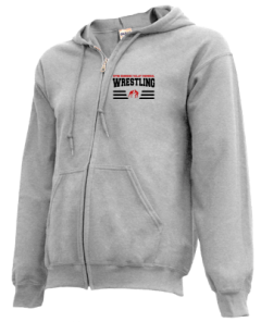 Men's Upper Kennebec Valley Memorial High School Cavaliers  Zip-up Hoodies