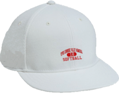 Women's Upper Kennebec Valley Memorial High School Cavaliers Embroidered Flat Bill Caps