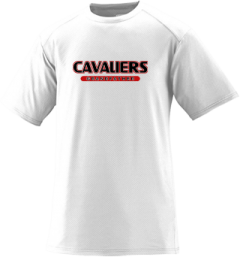 Men's Upper Kennebec Valley Memorial High School Cavaliers Short Sleeved Performance Mesh Crew