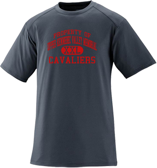 Men's Cavaliers Short Sleeved Performance Mesh Crew