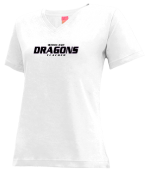 Women's Woodland High School Dragons Apparel