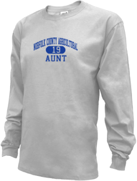 Kids Norfolk County Agricultural High School Rams Apparel