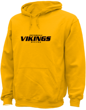Men's Potterville High School Vikings Apparel