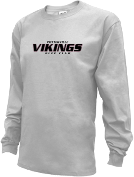 Kids Potterville High School Vikings Apparel