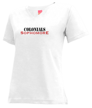 Women's Thomas Jefferson High School Colonials Apparel