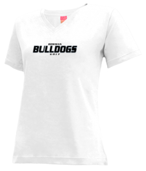Women's Bowman High School Bulldogs Apparel
