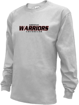 Kids Kootenai High School Warriors Apparel