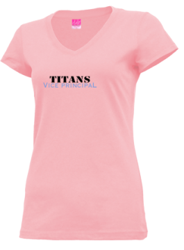 Junior Girls Illinois Math And Science Academy High School Titans Apparel