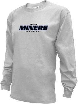 Kids Creede High School Miners Apparel