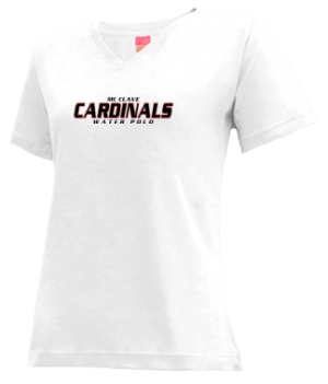 Women's Mc Clave High School Cardinals Apparel