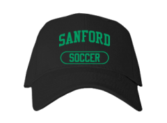 Men's Sanford High School Indians Embroidered Baseball Caps