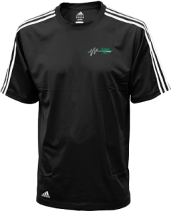 Men's Sanford High School Indians Embroidered Adidas Golf ClimaLite® Shirt