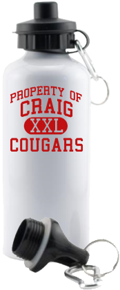 Men's Cougars Aluminum Water Bottles