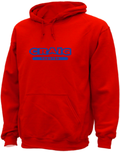Women's Craig Middle School Cougars  Hooded Sweatshirts